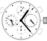 Mouvement chronographe AROLA 7750 F9C3h